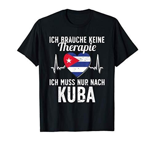 Kubanische Flagge I Kuba Urlaub I Kuba T-Shirt