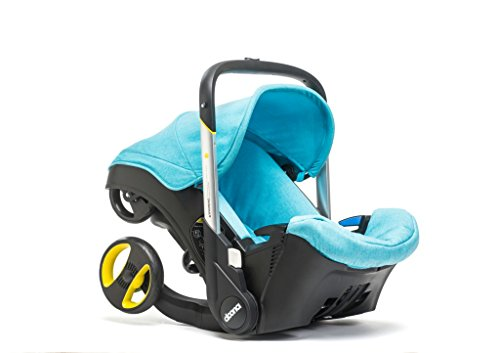 DOONA Kindersitzwagen 2 in 1 Gruppe 0+ Blau T�rkis