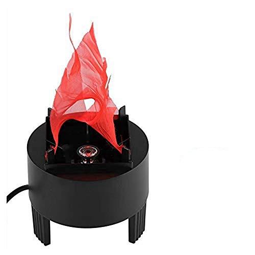 lámpara con luz efecto fuego fabricante TongBF