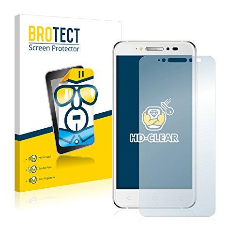 BROTECT Schutzfolie kompatibel mit Alcatel Shine Lite 5080X (2 Stück) klare Bildschirmschutz-Folie