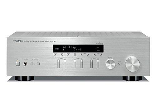 Yamaha R-N303D HiFi Receiver DLNA AirPlay DAB MusicCast silber