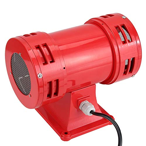 Sirenas de seguridad Cubierta de malla de protección metálica Bocina de alarma aplicable a la transmisión de señales en una variedad de grúas(220-240V)