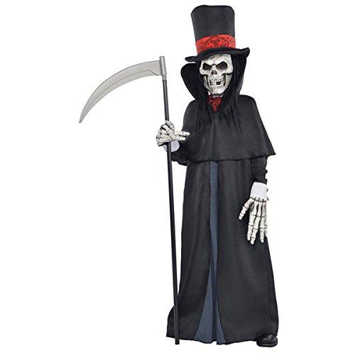 Amscan - 999 476 - adolescente de Halloween Disfraces - Reaper Lujo - 12-14 años