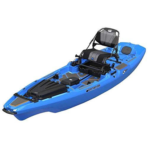 Bonafide SS127 Ultimate Sit on Top Fishing Kayak With Built in Storage , HiRise Seat , Hybrid Cat Hull Design For Maximum Stability