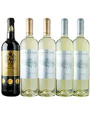 金賞ボルドーとオーパス・ワン醸造家ワインセット 赤1本&白4本 ワインセット