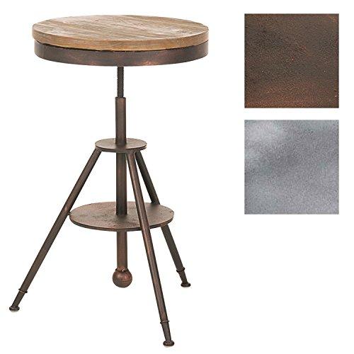 Table de bar Moko Ø 50 cm, Couleur:bronze