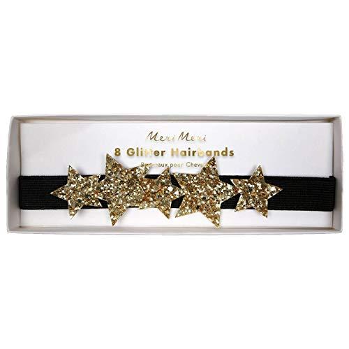 Meri Meri Stirnband Goldener Stern S / 8
