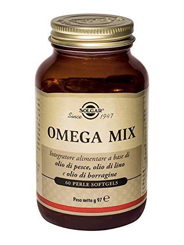 Solgar Omega 3-6-9 Fish, Flax, Borage weichGele, 60