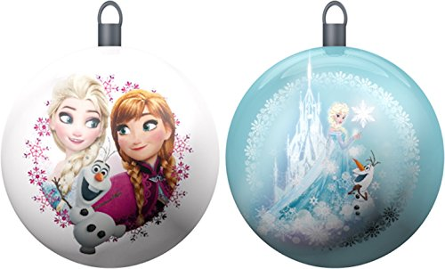 Star Licensing 44089 Set Palline di Natale Frozen, Multicolore, 10x10x10 cm, 2 unità
