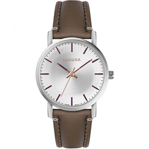 Kahuna Damen Datum klassisch Quarz Uhr mit PU Armband KLS-0383L