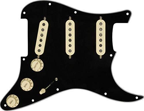 Fender Prewired Pickguard Strat Custom 69 black