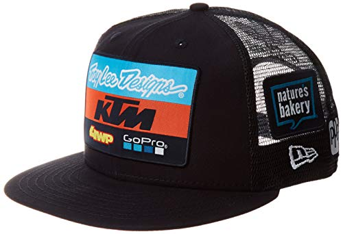 Troy Lee Designs Erwachsene KTM Team Cap Taglia unica Marineblau