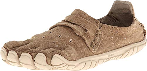 Vibram Five Fingers Men's CVT-Hemp Minimalist Casual Walking Shoe (45 EU/11-11.5, Khaki)