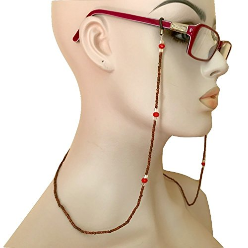 Beaded Eyeglass Chain Holder Handmade