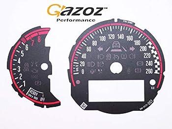 GAZOZ PERFORMANCE Racing Instrument Cluster RPM+Speedo for Mini Cooper S F54 F55 F56 F57 F58 F59