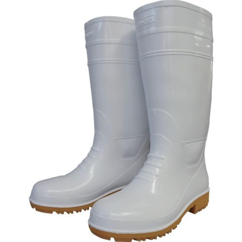 福山ゴム 耐油長靴先芯入り ガロア#1ホワイトL GLA1LH-6089 【4002423