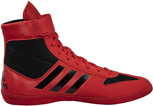 adidas Combat Speed 5 Red/Black Wrestling Shoes 5.5