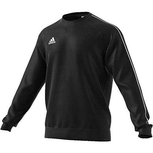 adidas Core18 Sw Top Sudadera, Hombre, Negro (Negro/Blanco), L