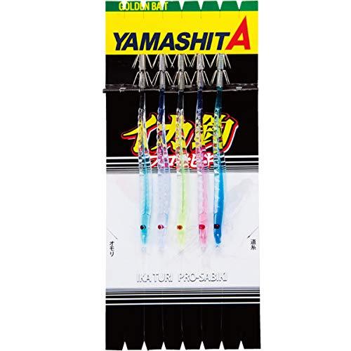 ヤマシタ(YAMASHITA) イカ釣プロサビキ SK 14-2 5本