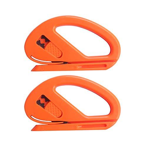 Gebildet Snitty Sicherheitsschneider Folienschneider Auto Vinyl Wrap Schneidwerkzeug Carbon Fiber Cutting Anwendung Messer,Packung mit 2