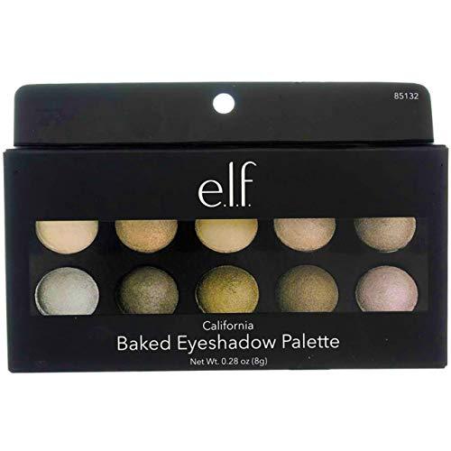 E.L.F. Baked Eyeshadow Palette Shimmer Eye Makeup