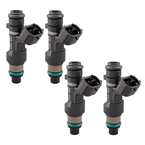 Hitachi OEM Set of 4 Fuel Injectors For Nissan NV200 2.0L Altima Rogue 2.5L L4