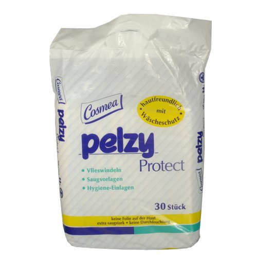 Cosmea Pelzy Protect Vlieswindeln, 9er Pack (9 x 30 Stück)