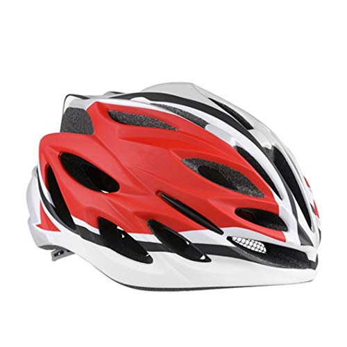 Unisex Ultraleichter Fahrradhelm Sommer Atmungsaktiver Mountainbike-Helm mit Insektennetz Abnehmbarer Fahrradhelm