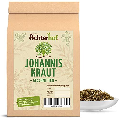 Johanniskraut geschnitten (250g) Johanniskraut-Tee Kräutertee natürlich vom-Achterhof