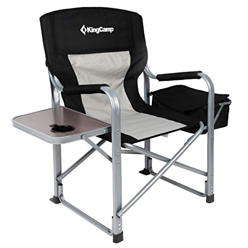KingCamp Heavy Duty Steel Camping Folding Director Chair