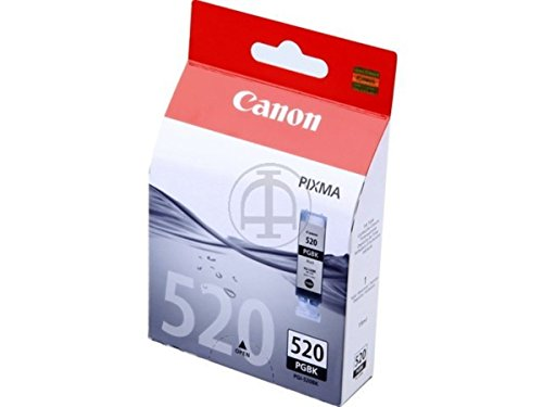 Canon Tintenpatrone PGI-520BK - schwarz 19 ml - Original für Tintenstrahldrucker