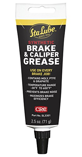 CRC SL3301 Synthetic Brake & Caliper Grease, 2.5 Wt Oz