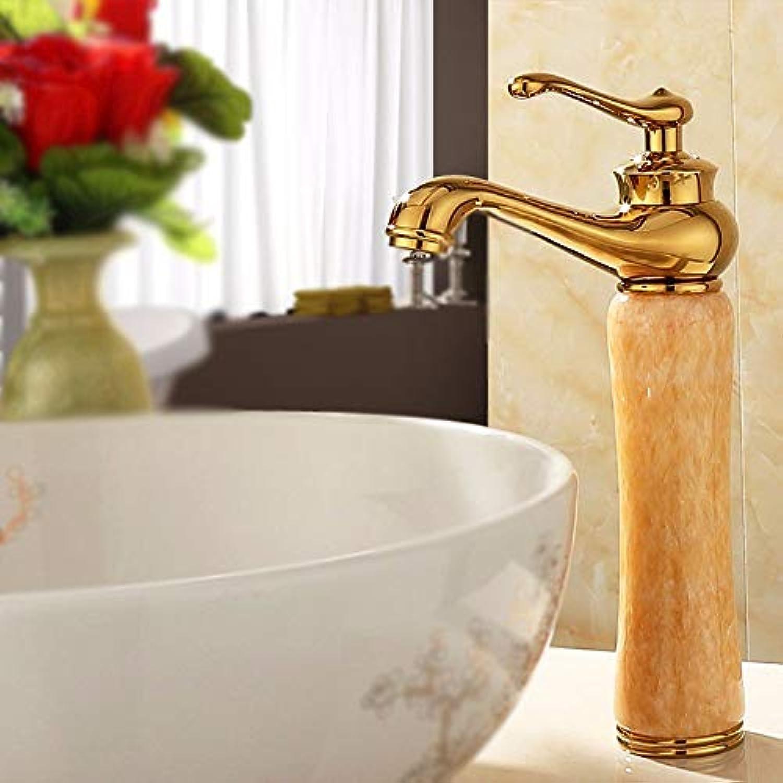 HhGold Europischen Stil Retro waschbecken warm und kalt alle Kupfer einzigen handgriff einlochmontage waschbecken