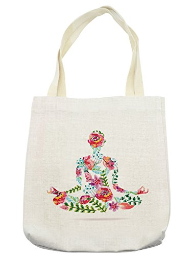 Lunarable Yoga Tote Bag
