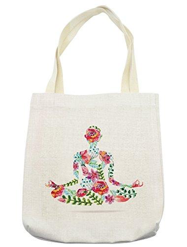 Lunarable Yoga Tote Bag