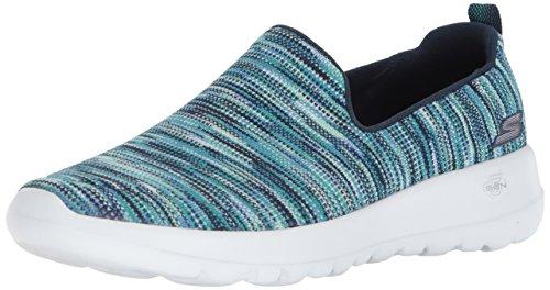 Skechers Performance Women's Go Walk Joy-15615 Sneaker,navy/multi,8.5 M US