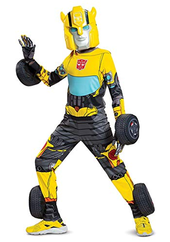 Disguise Transformers Kids Bumblebee Converting Costume Size 4/6