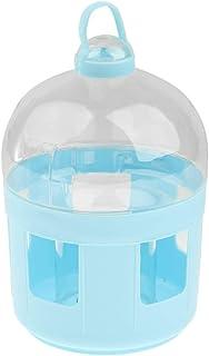 Fenteer Bird Water Drinker Feeder Pigeon Handle Plastic Pot Dispenser Container - as described, 2L
