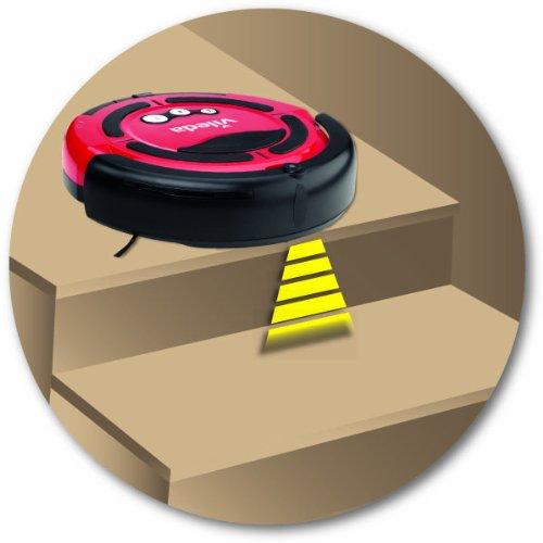 Vileda 137173 Cleaning Robot – Saugroboter zur Zwischendurchreinigung – für glatte Böden & kurzflorige Teppiche - 3