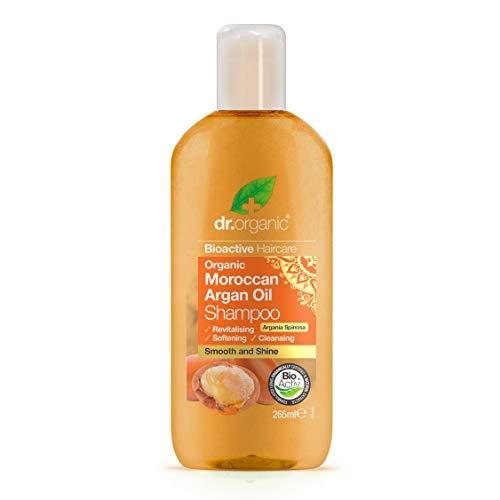 Dr.Organic Bioactive Haircare - Olio Biologico di Argan, Shampoo, 265 ml
