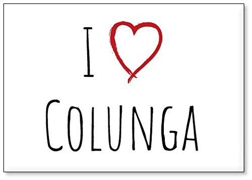Mundus Souvenirs - Amo Colunga, Imán para Nevera (diseño 3)