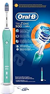 Braun Oral-B TRIZONE 500 - Pulsations 20, 000/min - 4x30sec Timer - D16 513U TR
