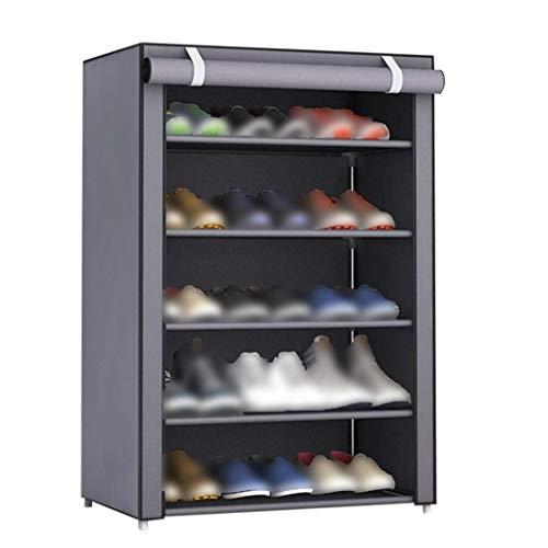 lujiaoshout La Tela no Tejida Zapatos Rack Zapatos Organizador habitación Dormitorio de Calzado Bastidores Casa y jardín