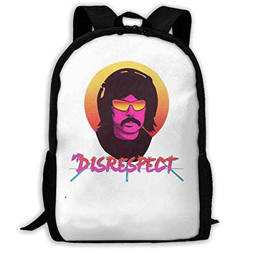 sghshsgh Mochilas Tipo Casual,Backpack for Men Women,Violence Speed Momentum Gaming Dr. Disrespect Backpacks Hiking Laptop Backpack Travel Large Shoulder Bags for School Shopping Outdoor Sports