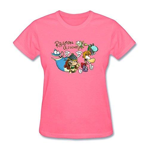 Kittyer Rayman Legends - Camiseta de algodón para Mujer (Talla XXL)
