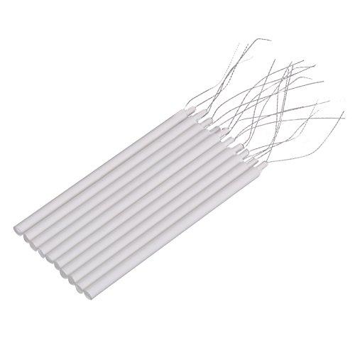 10 Uds, Elemento calefactor de cerámica con núcleo de soldador, calentador de soldador Universal, 220 V, 20 W, 8,3 * 0,4 cm