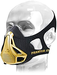 Phantom Athletics Training Mask | Gold Edition | Limited to 300 pieces | Respiratory resistance training for more power (M: from 70Kg - 100Kg)