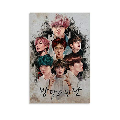 GUCII BTS Posters - Póster decorativo (30 x 45 cm)