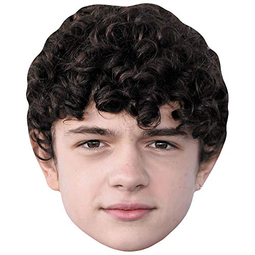 Celebrity Cutouts Noah Jupe (Curly Hair) Big Head. Larger than life mask.