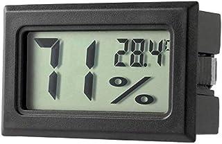 ZHITING FY-11 - Termómetro digital LCD para bricolaje, higrómetro integrado de temperatura y humedad en la habitación